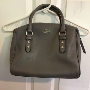Kate Spade Julianne Mulberry Street Gray